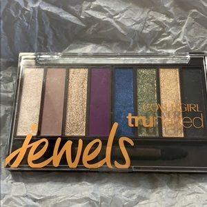 Covergirl Trunaked jewels eyeshadow palette shimme